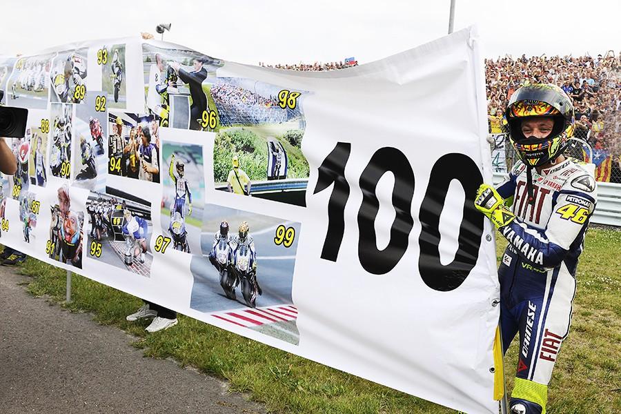 striscione 100 vittorie 2009