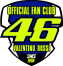 LOGO FAN CLUB VR46-1